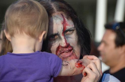 Zombie mum and zombaby?