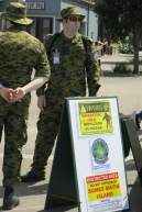 Military Personnel @ The Dock