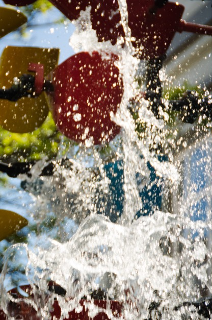 Splish Splash goes the water