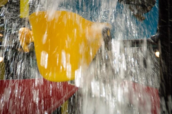 Cuba Street's Bucket Fountain
