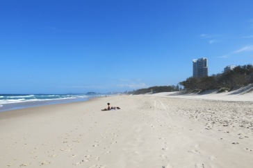 Sun worshippers @ Broadbeach, QLD