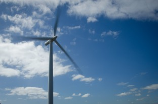 The only working wind turbine that the public has access to