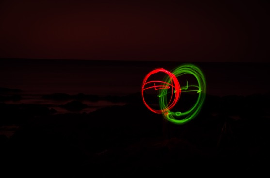 Red and Green Rings