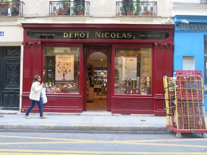 quaint shop fronts