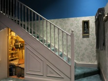 Room under the stairs