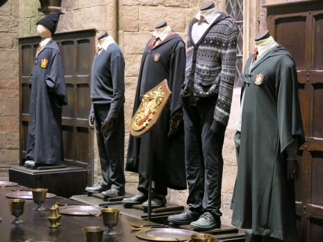 Gryffindor area (and that's the clothes the actors wore during filming)