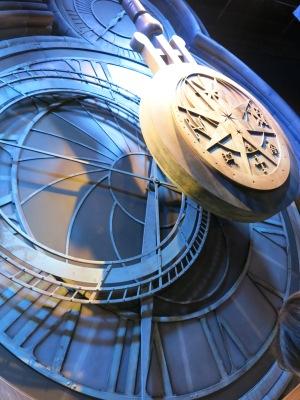 Hogwarts clock