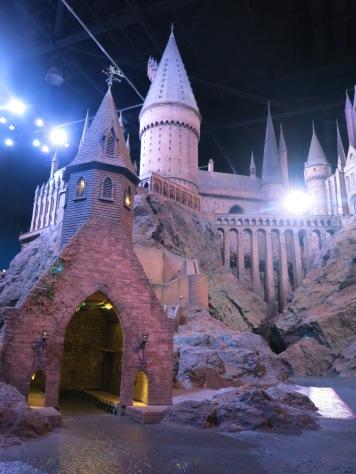 Hogwarts, looking up