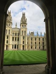 Oxford University Quadrangle