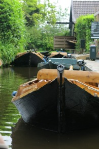 River boats (or punts)