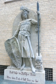 Statue of a farmer from Cologne