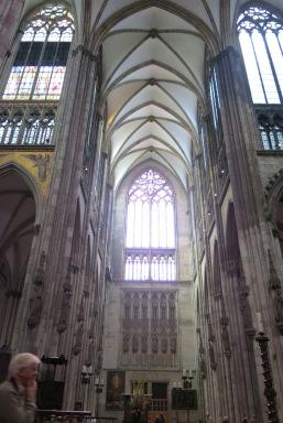 Inside the Koelner Dom