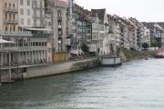 View of the Rhine from one of Basel's bridges