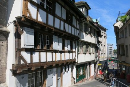 Buildings at Klein Basel