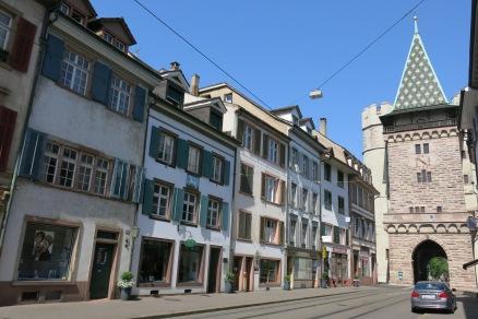 Sunday morning at Basel (near the city gate)