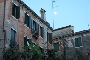 The moon over Foresteria Valdese