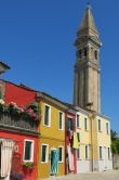 Burano's clock tower