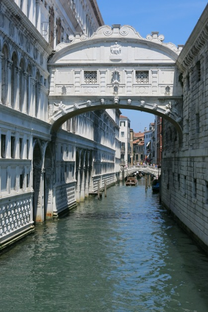 Bridge of Sighs (nothing romantic about why it's called that)