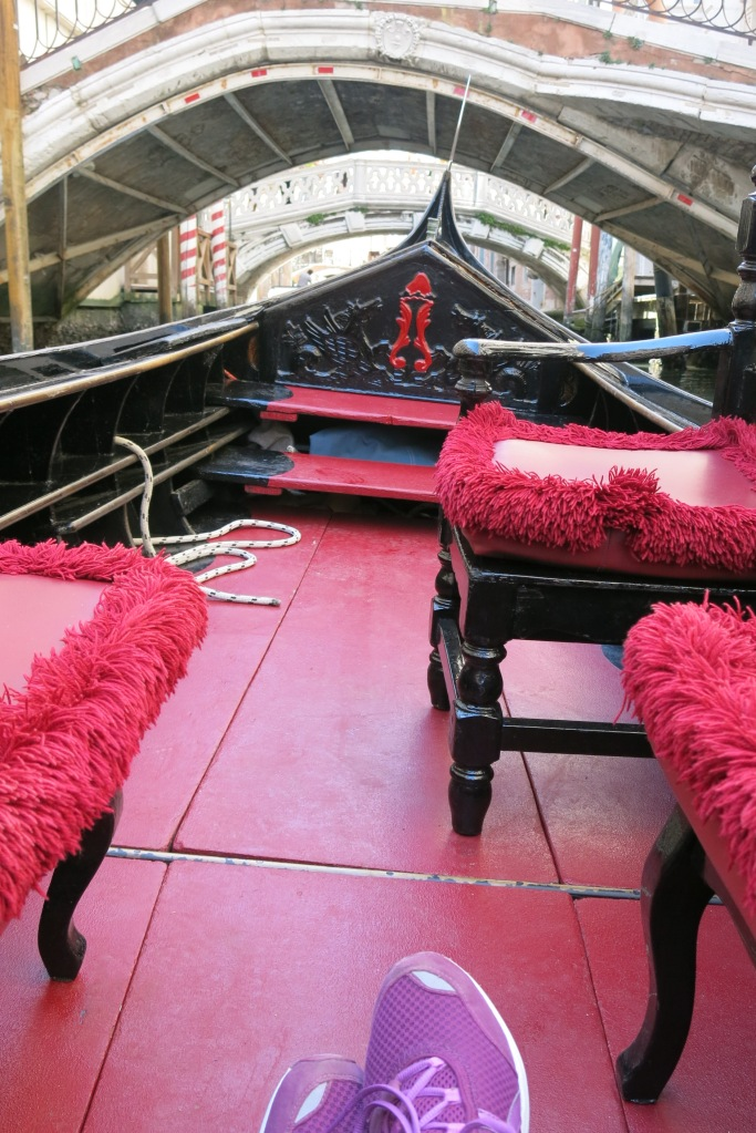 Whee! I'm on a real Gondola!
