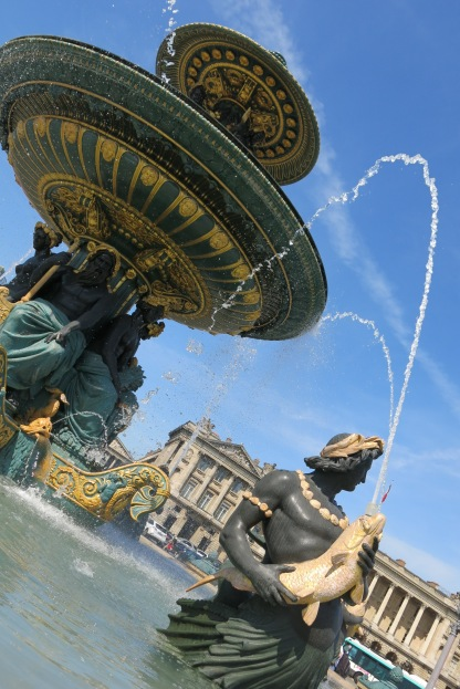 Fountain at la Concorde