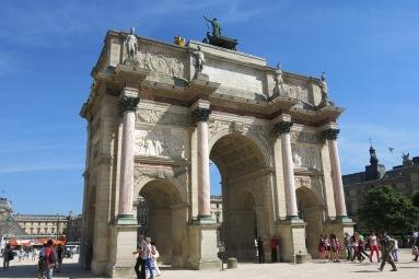 Entrance to Jardin du Tuileries