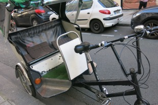 My bike, after it broke down