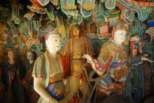 Buddha carvings / statues - the temple is FILLED with these!