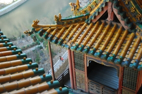 Rooftops (the little dragon is the same as the one in this gallery)