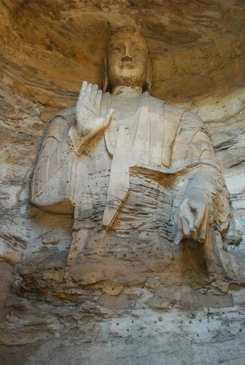 Buddha - with angular features
