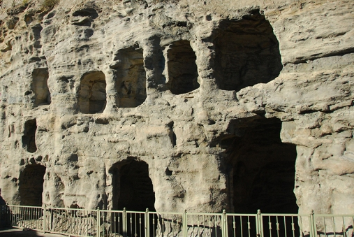 1st set of Caves (right side of the entrance)