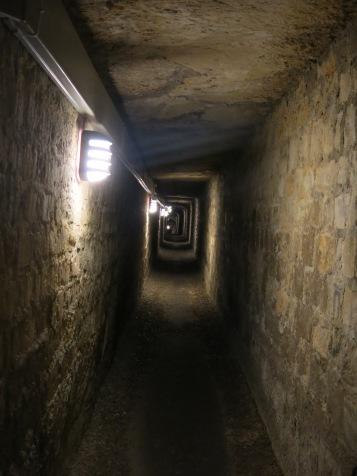 Hallway that lead to main chambers