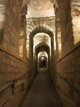 Underground hallways