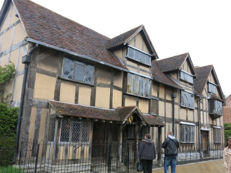 Shakespeare's home (front but not where people can enter)