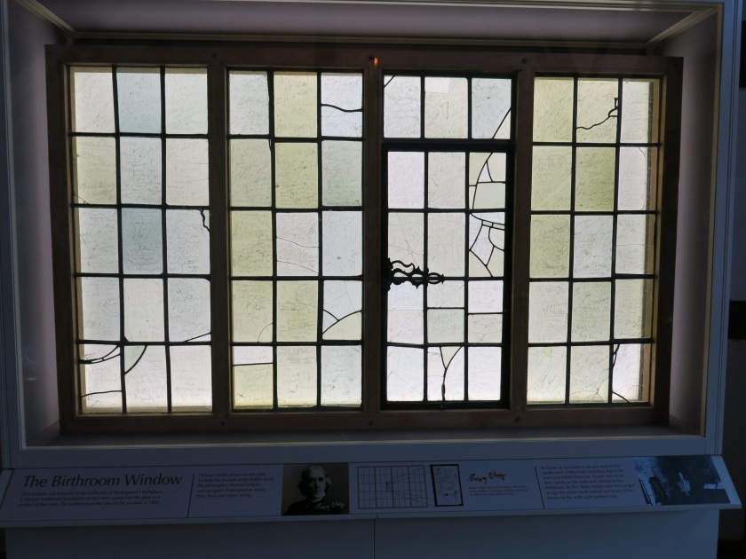Birthplace Window