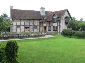 Shakespeare's backyard