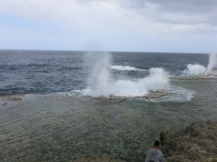 Mapu a Vaea (Whistle of the Noble) - blowholes @ Houma