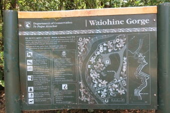 Waiohine Gorge Map