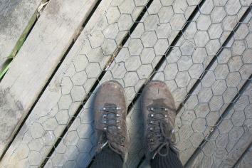 My muddy feet