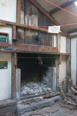 Inside Cone Hut