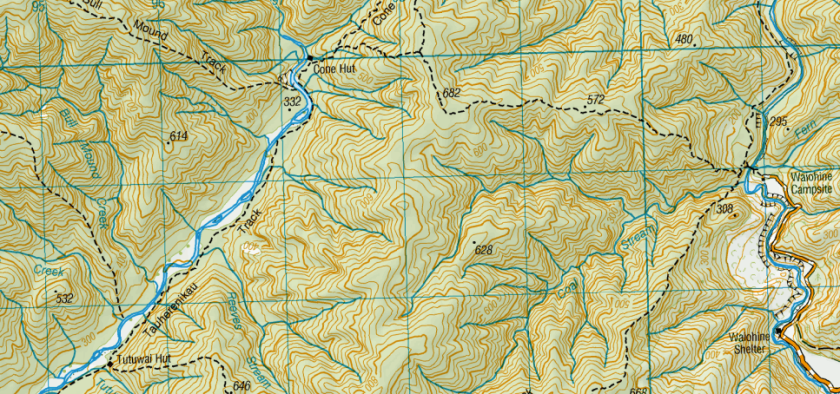 Topography of a Tramp