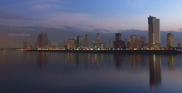 Manila Bay at daybreak