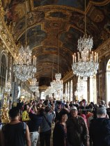 Tourists in the Hall of Mirrors