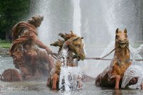 Horses and a Chariot (water feature)