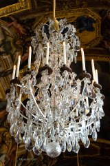 Chandelier at the Hall of Mirrors