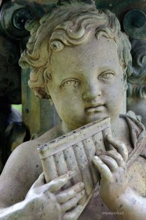 Cherub Fountain Ornament