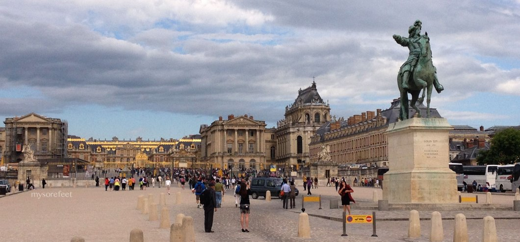 Welcome to the Chateau de Versailles
