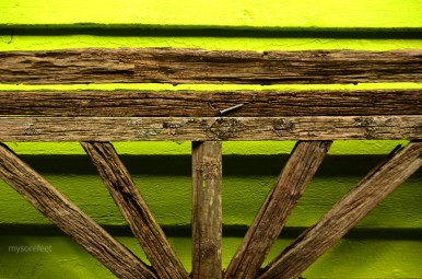 bench back and nail