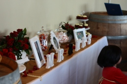 Dessert Table (waiting for the cake)