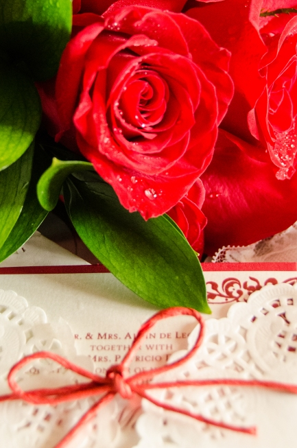 Flowers and Invites