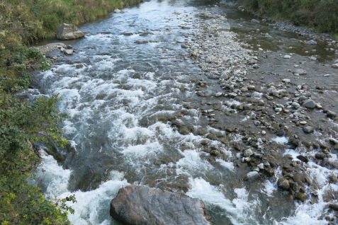 crossed a stream
